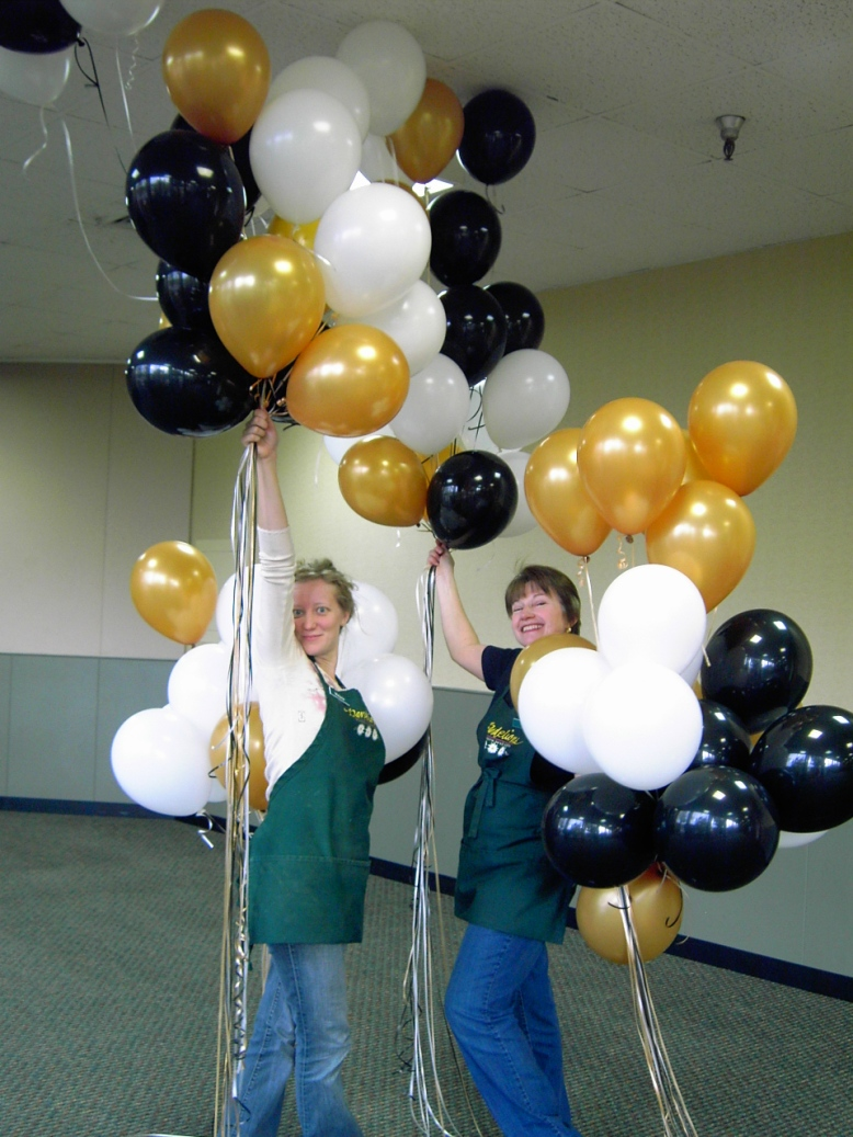 Balloons for Chamber Expo