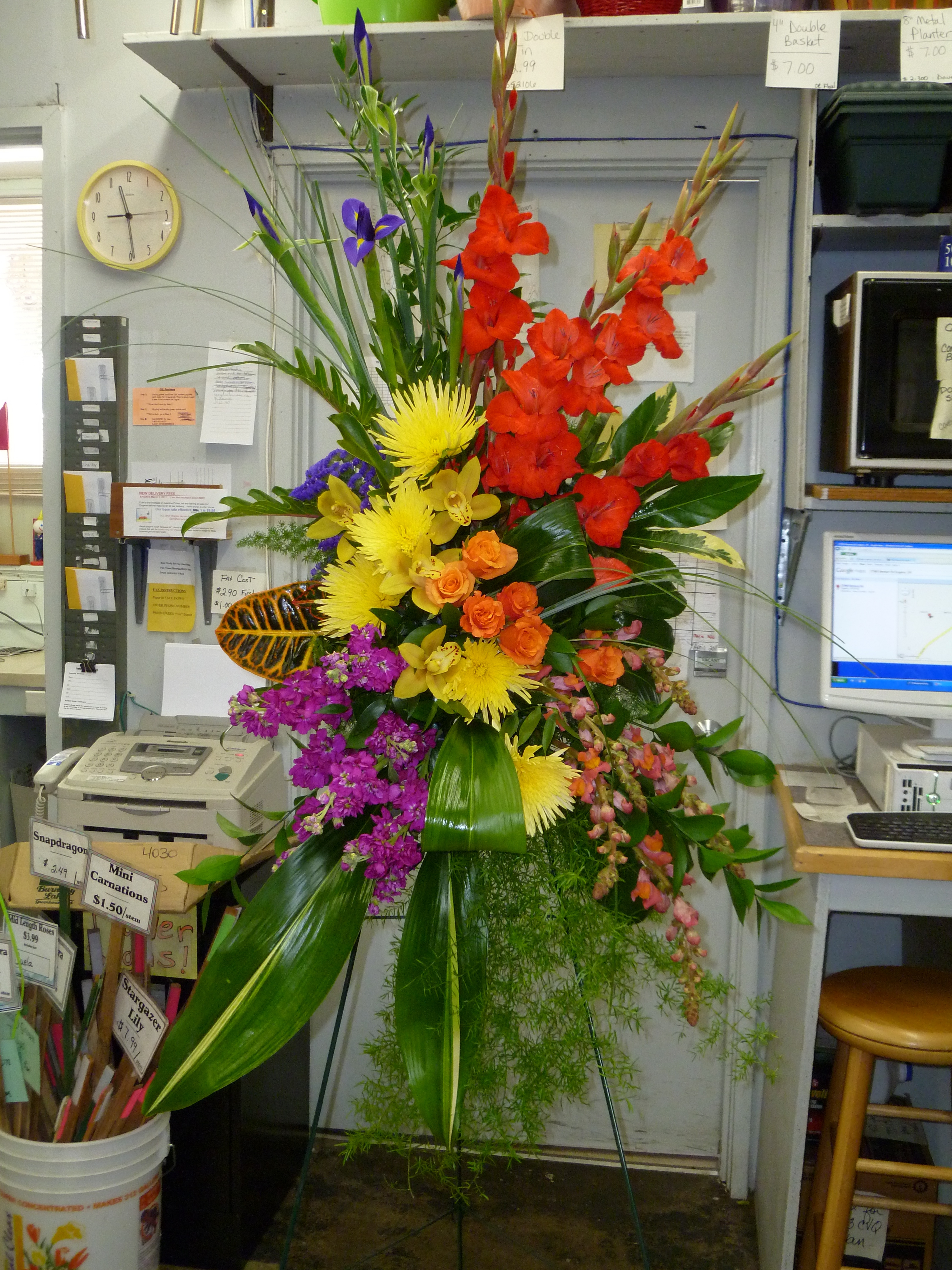 Memorial service funeral flowers dandelions flowers gifts rate this izmirmasajfo Choice Image