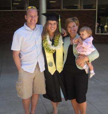 Oregon graduation lei