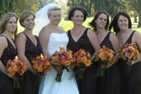 Fall Bridal Bouquets Dandelions Flowers Gifts