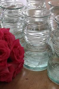 vase donation dandelions