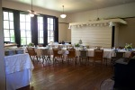 Schoolhouse wedding reception