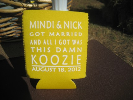 Fun wedding favors