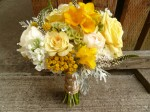 country chic bridal bouquet