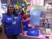 Debbie with the Willamette Valley Cancer Institute