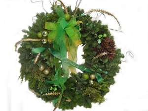 DLOL-7A GO DUCKS Wreath popup