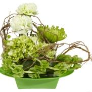 contemporary green arrangement