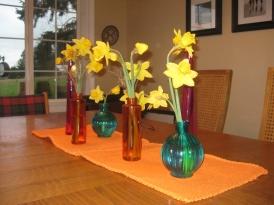 Daffodils centerpiece
