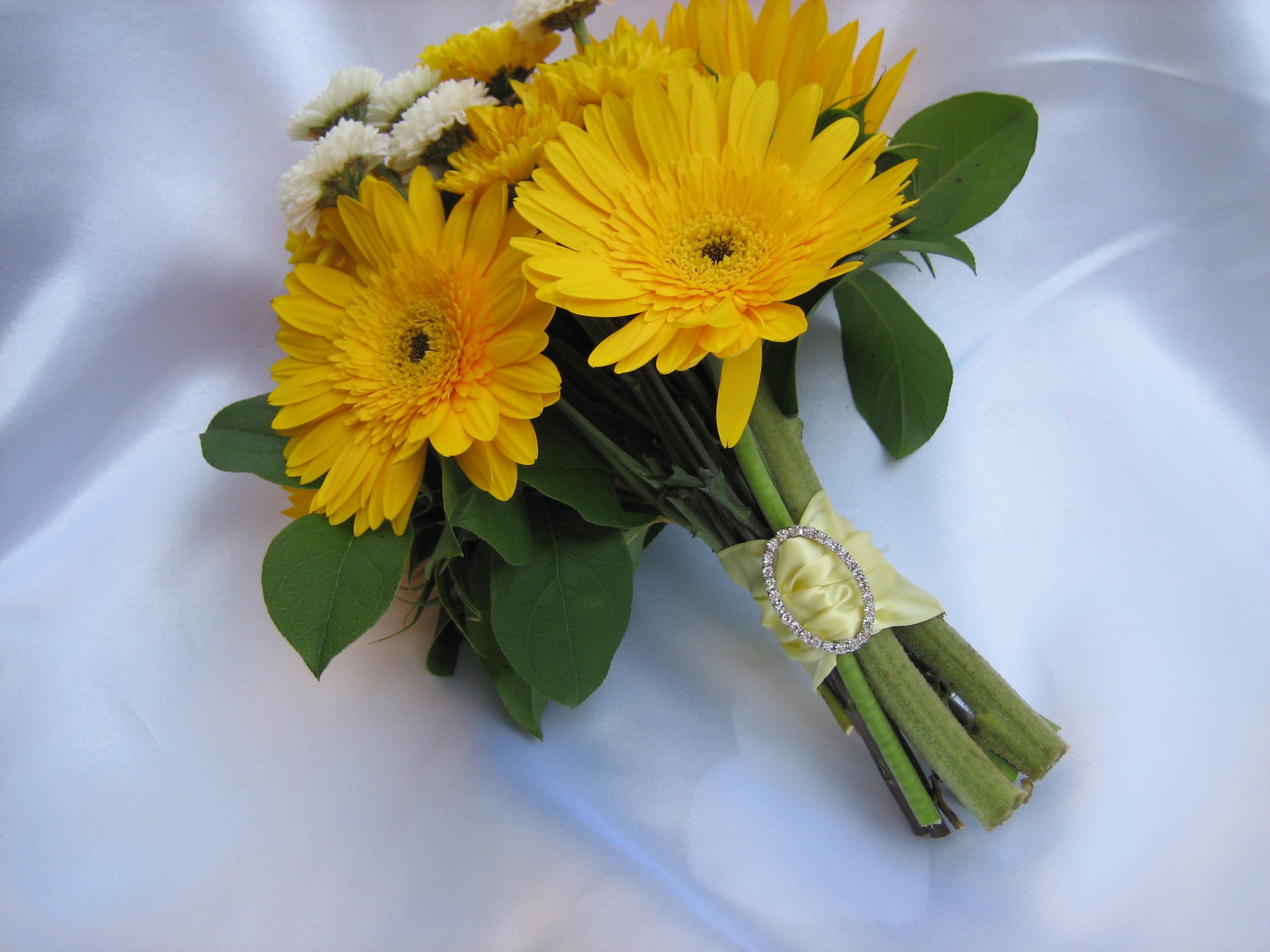 Yellow Wedding Bouquet Dandelions Flowers Amp Gifts