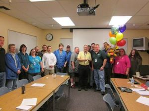 Best Boss 2013 Rich Spindler of Datalogic ADC (in yellow shirt)