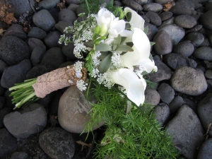 hilton wedding flowers