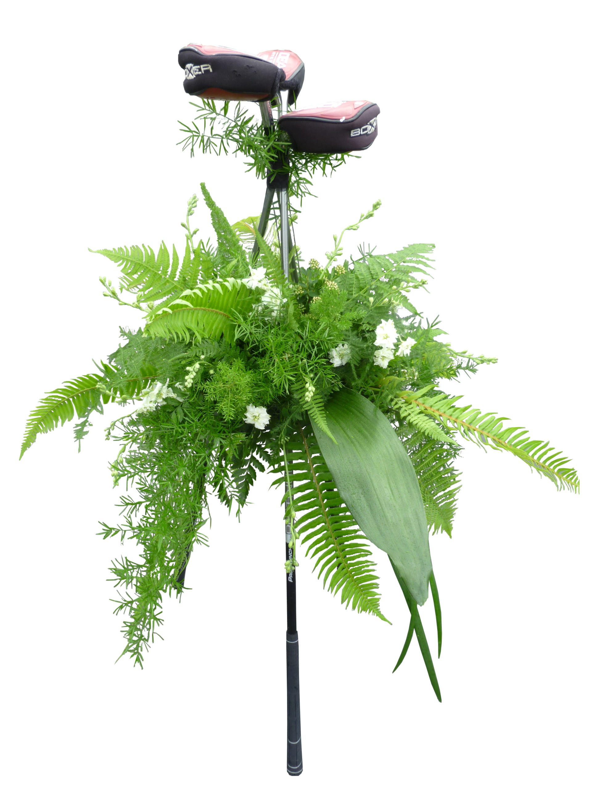 Custom unique funeral flowers dandelions flowers gifts funeral flowers for a golfer dhlflorist Images