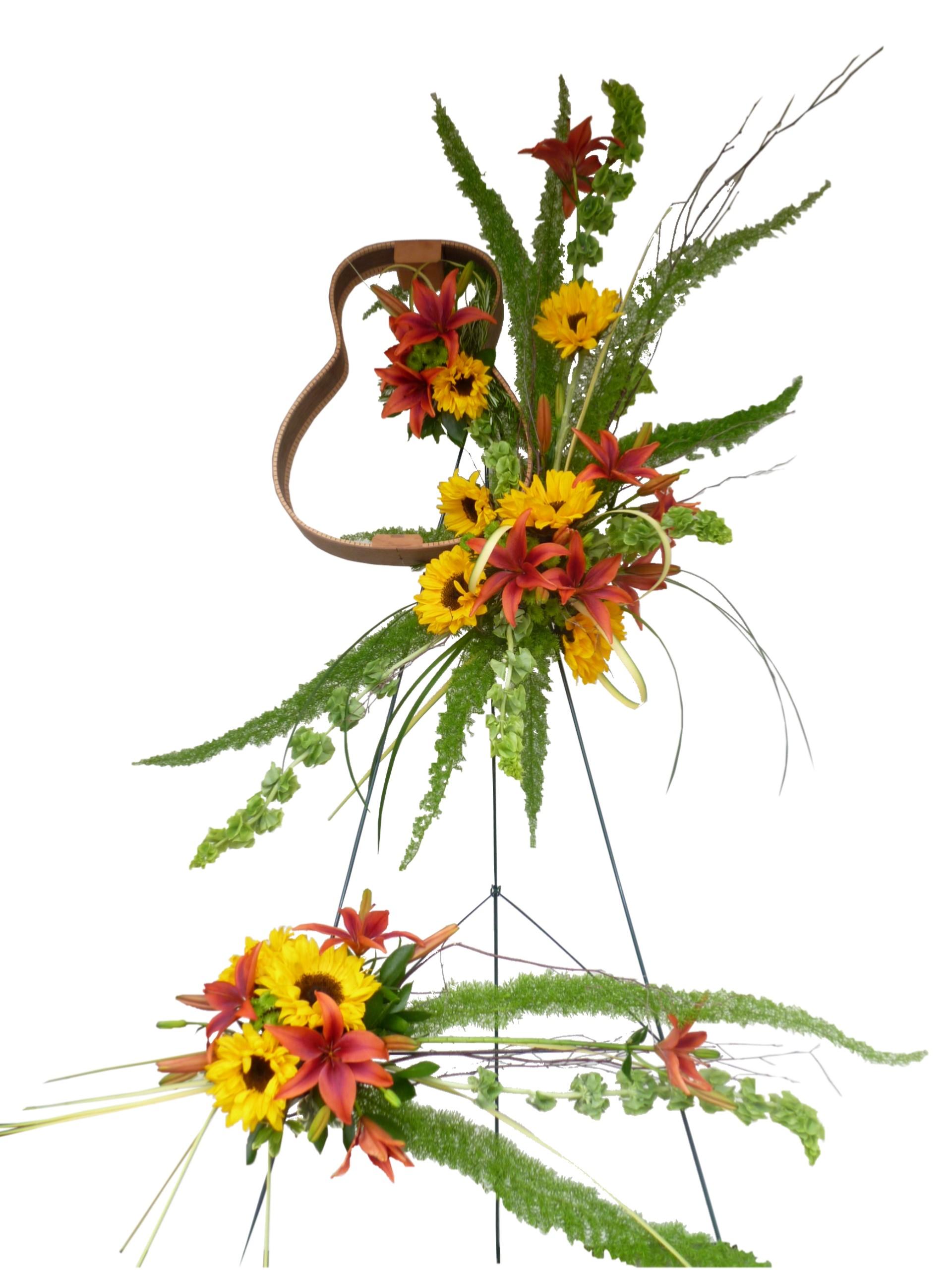 Custom funeral flowers dandelions flowers gifts custom funeral flowers izmirmasajfo