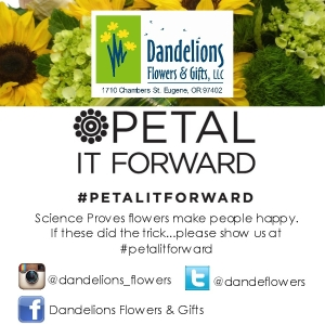Petal it forward