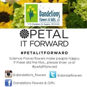 Petal it forward