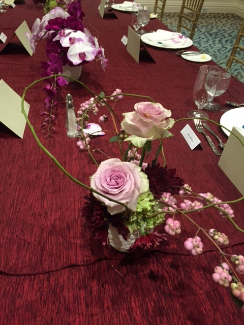 flowers for luncheon