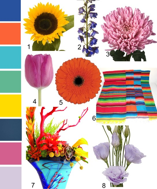 Festival Color Palette
