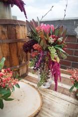 urban flower arrangement